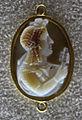 155 arte romana, iside col sistro, calcedonio, vi sec dc ca..JPG