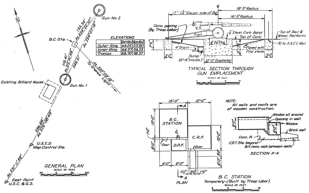 file 155mm gun plans 1942 jpg wikimedia commons