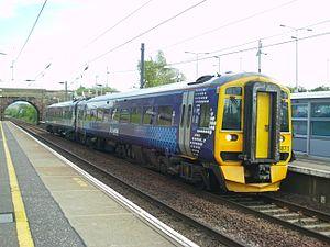 British railway rolling stock - Image: 158871Musselburgh