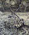 168 Life of Christ Phillip Medhurst Collection 4354 Christ stills the tempest Mark 4.37-38 Pass Rom.jpg