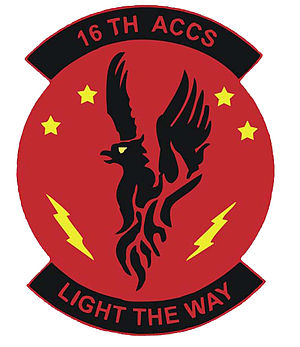 16th Airborne Command and Control Squadron - Image: 16th Airborne Command and Control Squadron emblem