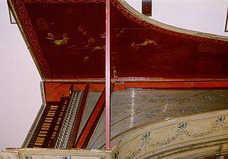 Hans G. Adler - 1750 Italian 2 manual Harpsichord