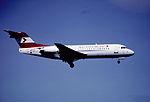 175am - Austrian Airlines Fokker 70, OE-LFP@ZRH,23.04.2002 - Flickr - Aero Icarus.jpg