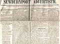 1848 NewburyportAdvertiser Massachusetts October20.jpg