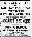 1894 - John J Hauser & Company - 25 Apr MC - Allentown PA.jpg