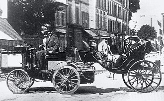 De Dion-Bouton - De Dion steam car in Paris–Rouen race of 1894
