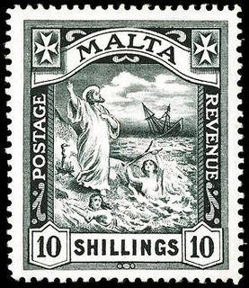 Malta Saint Paul 10s black