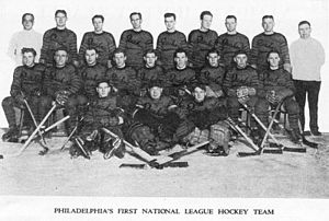 Philadelphia Flyers - The Philadelphia Quakers was the first NHL franchise in the city. The Quakers played from 1930 to 1931.