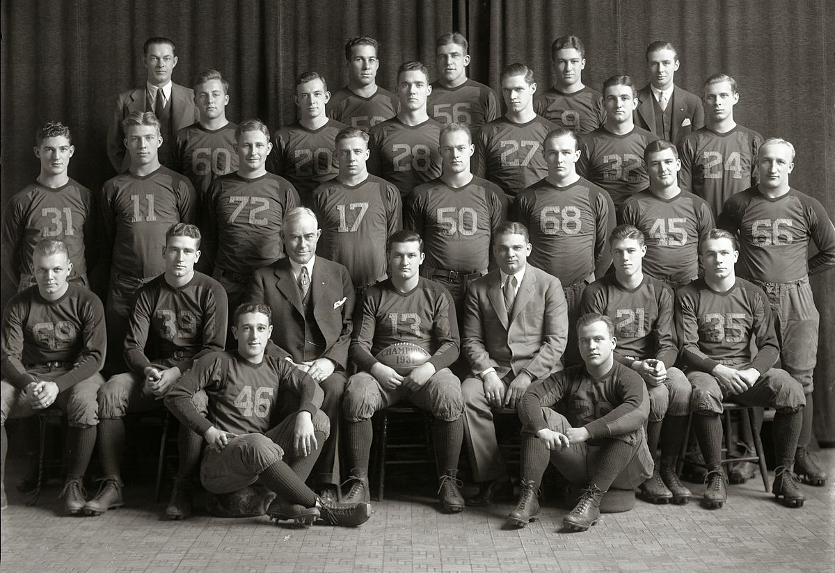 The Rankings For College Football >> 1931 Michigan Wolverines football team - Wikipedia