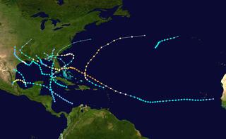 1947 Atlantic hurricane season hurricane season in the Atlantic Ocean