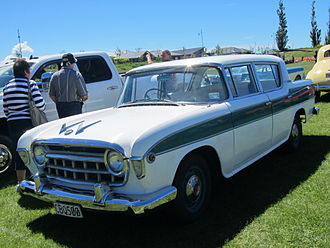 Rambler Six and V8 - 1956 Nash Rambler sedan with right-hand drive in New Zealand