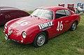 1957 Fiat-Abarth 750 GT Corsa Competizione, front left (Greenwich 2019).jpg