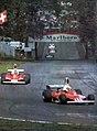 1975 Italian GP - Regazzoni and Lauda at the Mirabello chicane.jpg