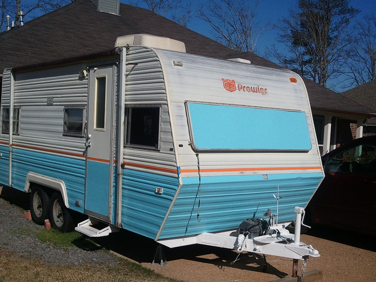 Creative Designs To Paint On The Exterior Of A Rv