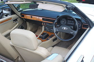 Jaguar XJS - Interior