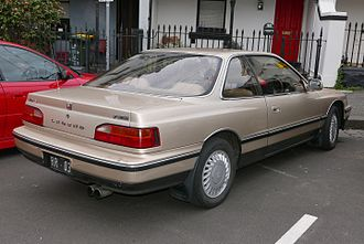 Honda Legend - Honda Legend coupe (Australia)