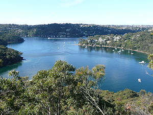 Middle Cove, New South Wales - View of Sugarloaf Bay from Harold Reid Reserve