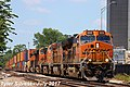1 3 BNSF 3926 Leads WB 15,940 foot long Intermodal Olathe, KS 7-16-17 (35838045841).jpg