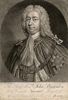 John Brownlow, 1st Viscount Tyrconnel Irish Viscount