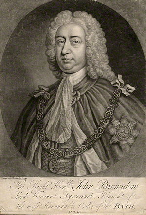 John Brownlow, 1st Viscount Tyrconnel - Lord Tyrconnel