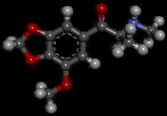 5-Methoxymethylone - Image: 2 a 1mp bk mmdma web