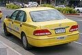 2003-2005 Toyota Avalon (MCX10R Mark III) taxi pack sedan, North Suburban Taxis (2006-10-14).jpg
