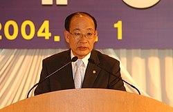 2004년 6월 서울특별시 종로구 정부종합청사 초대 권욱 소방방재청장 취임식 DSC 0154.JPG