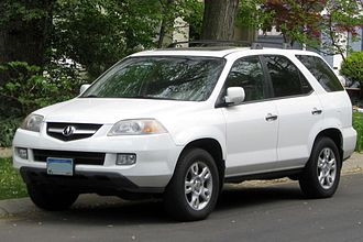 Acura MDX - Facelifted Acura MDX