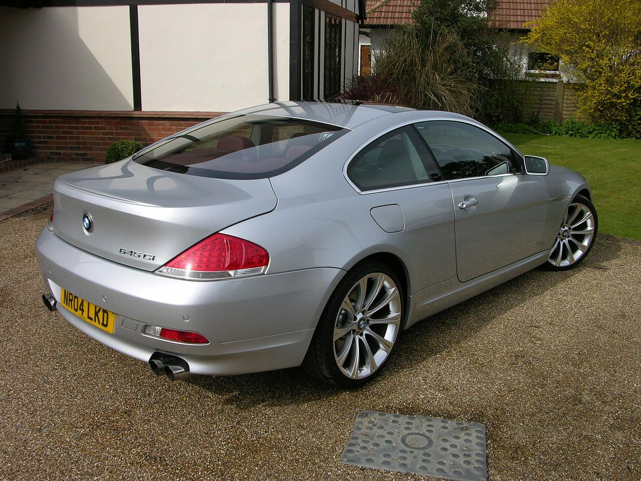 BMW 2004 bmw 645ci : File:2004 BMW 645Ci Sport - Flickr - The Car Spy (1).jpg ...