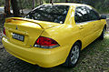 2006-2007 Mitsubishi Lancer (CH MY07) ES sedan 02.jpg