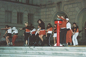 Hex Rally - Dance Team performs at the 2005 Texas Hex Rally