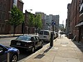 2008 05 07 - Baltimore - W Saratoga St approaching Park Ave.JPG
