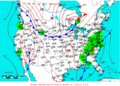 2009-06-05 Surface Weather Map NOAA.png