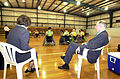 201000 - Wheelchair rugby Australian PM Howard view training - 3b - 2000 Sydney training photo.jpg