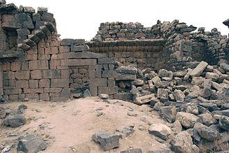 Nabataean architecture - Image: 20100922 umaljamal 68