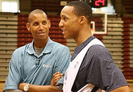 20101929 Evan Turner and Reggie Miller