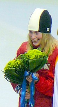 2010 Medals in 500 metres short track-Marianne St-Gelais.jpg