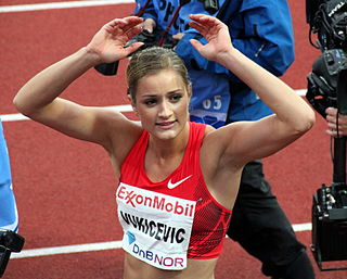 Christina Vukicevic Norwegian hurdler