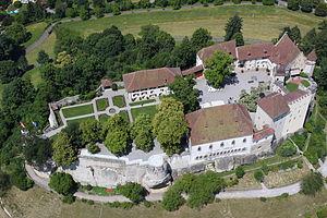 Counts of Lenzburg - Modern Lenzburg Castle