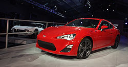 2013 MY Scion FR-S (US)
