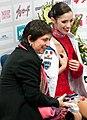2011 Rostelecom Cup - Berton and coach.jpg