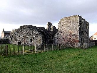 Balmerino Abbey - Balmerino Abbey as seen on 13 February 2012