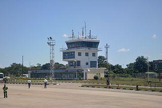 Simon Mwansa Kapwepwe International Airport International airport in Copperbelt Province, Zambia