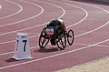 2013 IPC Athletics World Championships - 26072013 - Ilana Dupont of Canada during the Women's 400m - T53 first semifinal.jpg