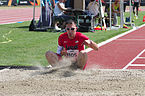 2013 IPC Athletics World Championships - 26072013 - Robbie Gaupp of the USA during the Men's Triple jump - T46 4.jpg