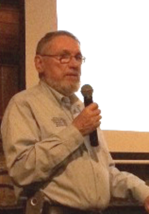 Bill Lee (yacht designer) - Bill Lee speaking at the Santa Cruz Yacht Club in February 2014