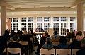 2014-03-14 Festival der Philosophie, Hannover, 35, (01m) Dr. Franziska Martinsen (Leibniz Universität Hannover), Nadine Conti (Minden, Hildesheim), Dr. Salvatore Principe (Università Frederico II, Napoli).jpg