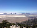 2014-06-29 12 16 51 View south from about 9250 feet on the main ridgeline of Pilot Peak, Nevada north of Miner's Canyon.JPG