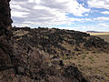 2014-07-18 17 09 12 Close view of the west edge of the Black Rock Lava Flow, Nevada.JPG