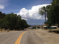 2014-07-30 13 32 58 View west along Main Street in Manhattan, Nevada.JPG